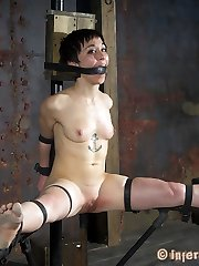 Very few of the girls we bring to RealTimeBondage.com are as intense as Mei Mara. She is a sadist looking to experience it all first arm
