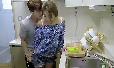 asian romantic love making