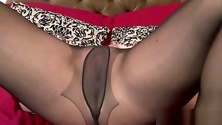 Amazing Matures And Pantyhose Sex