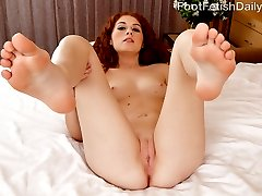 Alice cant wait to have her feet worshipped, and her man is ready to fill that role. But just as...