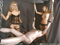 Two blonde Mistresses-Video Clips