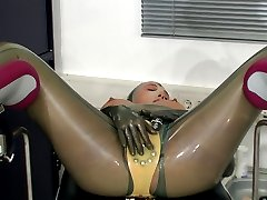Rubber latex anal