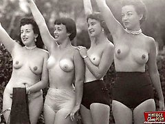 Real vintage outdoor girls