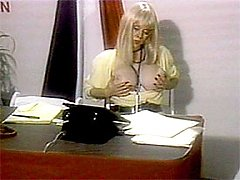 Big titted retro secretary