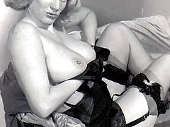 Vintage chick with big tits