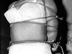 Vintage girls doing bondage
