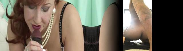 Perky blonde Danielle Lynn teases in her sexy pink and blue matching bra and panties as she gets...