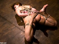 The beautiful Kirra starts off with an agenda, to learn to love being dominated. She has never...