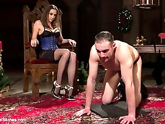 Its Christmas time at the Divine Bitches dungeon and Mistress Chanel Preston expects to be...