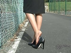 High Heeled ladies like Claire are now often seen in English towns and cities. If you have a...
