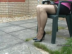 Alison knows just how stimulating shoe fetish is for a man who cant take his eyes away from...