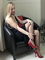 You know how you keep telling yourself that you must do something to control your shoe fetish....