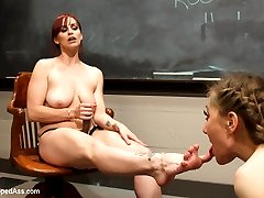 Co-ed Emma Haize thinks shes pulled a fast one over on her teacher, Bella Rossi, when she writes...