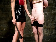 Latex Domina Sara Faye is brand new to MIP and brings a closet full of angst and aggression to...