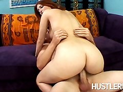 Ginger Blaze gets her young pussy fucked by a dirty old man.br