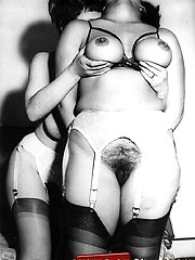Vintage sweeties undressing