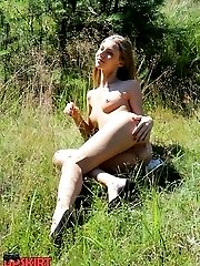 Real nudism presented by cute babes