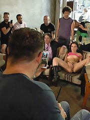 Juliette March is a total slut and deserves to be shamed! This whore gets fully naked at a huge...