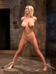 Welcome Blake Rose to Hogtied. Blakes body should be weaponized. Tall, long legs, a perfect ass,...