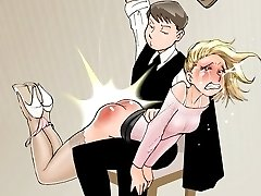 Hardcore Spanking free drawings