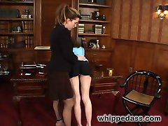 Pink the pain slut visits brutal dominatrix Felony for a session filled with flogging, spanking,...