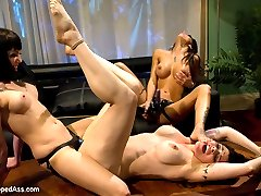 Welcome Annika to Whipped Ass! Annika is one smoking hot MILF who loves lesbian punishment and...