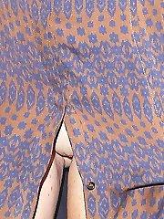 Celeb voyeur pics of panty up skirt