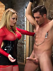 Cock tease, denial, edging and prostate milking are some of my favorite femdom activities and...