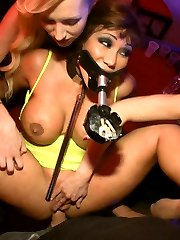 Ava Devine proves she is the FILTHIEST PUBLIC WHORE by submitting to a bar full of strangers....