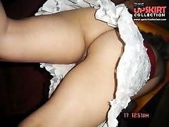 Unbelievable naked pussy upskirts
