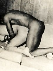 Vintage couples having sex