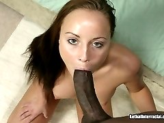 Foreign Redhead Loves Interracial Sex