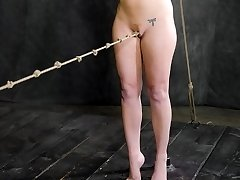 The rope between her legs has been rubbing at the sides of Maddy OReillys clit for what feels...
