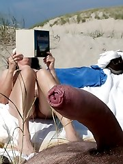 Public beach, exclusive hot photos and videos