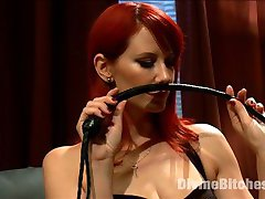 Heavily tattooed vegan straightedge punk, Rukus, is caged and left as a surprise in Maitresse...