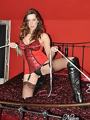 These new boots of Janes were made for a lot of things, especially getting you nice and teased!...