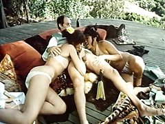 Annette Haven, Lisa De Leeuw, Paul Thomas in vintage xxx movie