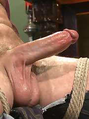 Sebastian meets up with Hugh Hunter today, a KinkMen fan who fantasizes about receiving a...