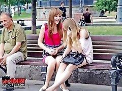 Public upskirt pics with hot chicks