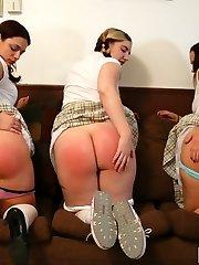 Three Spanking Schoolgirls