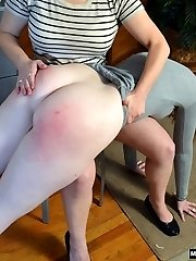 Cherry Spanked in Office
