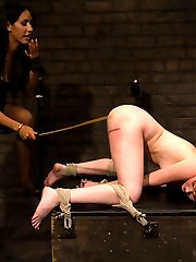 Welcome back the adorable redheaded slut Marie McCray to Whipped Ass. Marie loves kinky sexy,...