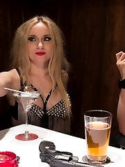 2 smoking hot blonde bad ass bitches embark on a brutal search to find a new initiate for their...