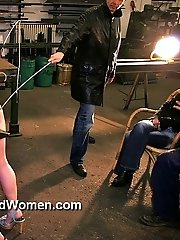 Extreme sulky whipping torture