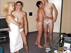 After sauna swinger sexbr