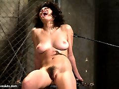 Hot little slut Raven Rockette is the first to experience a new series on Electrosluts. She...