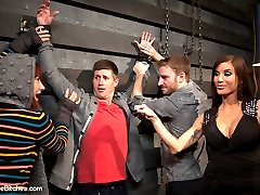 Mistress Gia Dimarco was booked to domme Sebastian Keys but on my way into the Armory that...