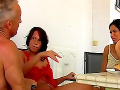 Trampling slapping femdom with Jenny