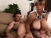 Old Big Boobs Porn