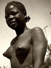 Vintage black babes naked